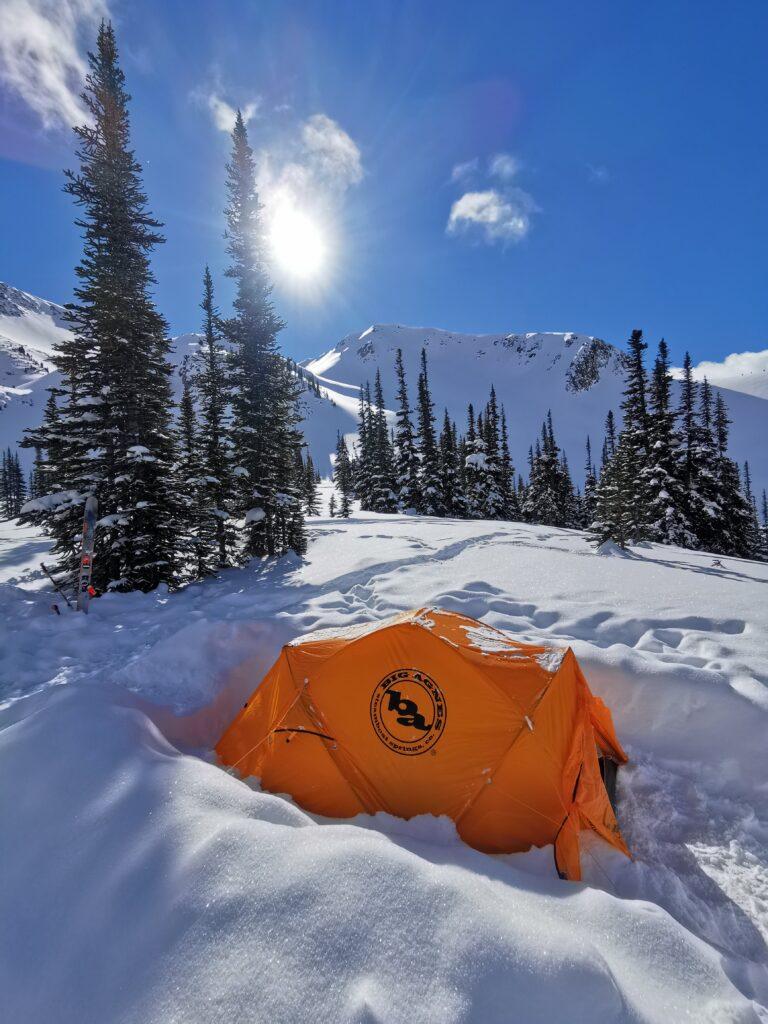 MABEY SKI OVERNIGHT SKI TOURING TENT BASE CAMP